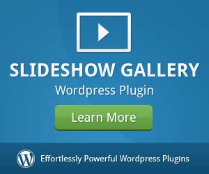 WordPress Slideshow Gallery plugin