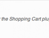WordPress Shopping Cart Plugin - iPay88 Payment Gateway